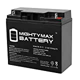 Mighty Max Battery ML18-12 - 12V 18AH CB19-12 SLA AGM Rechargeable Deep Cycle Replacement Battery Brand Product