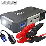 JACO BoostPro Car Battery Jump Starter - Super Powerful Portable Jumper Start Pack for Vehicles, Motorcycles, Diesel
