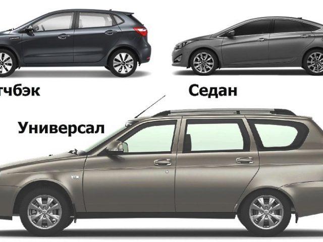 Все виды кузовов автомобилей – Типы кузова легковых автомобилей (описание с фото)